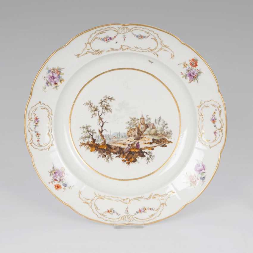 Big plate with landscape motif - photo 1