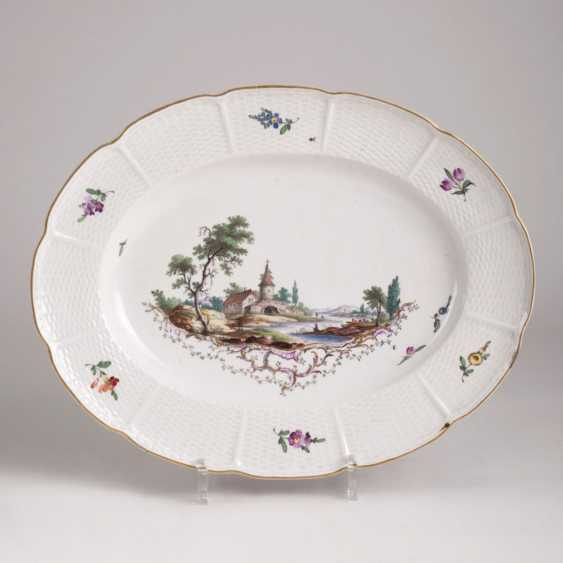 Ludwig Burger plate with landscape painting - photo 1
