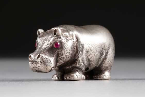 LITTLE HIPPO Modern silver - photo 1