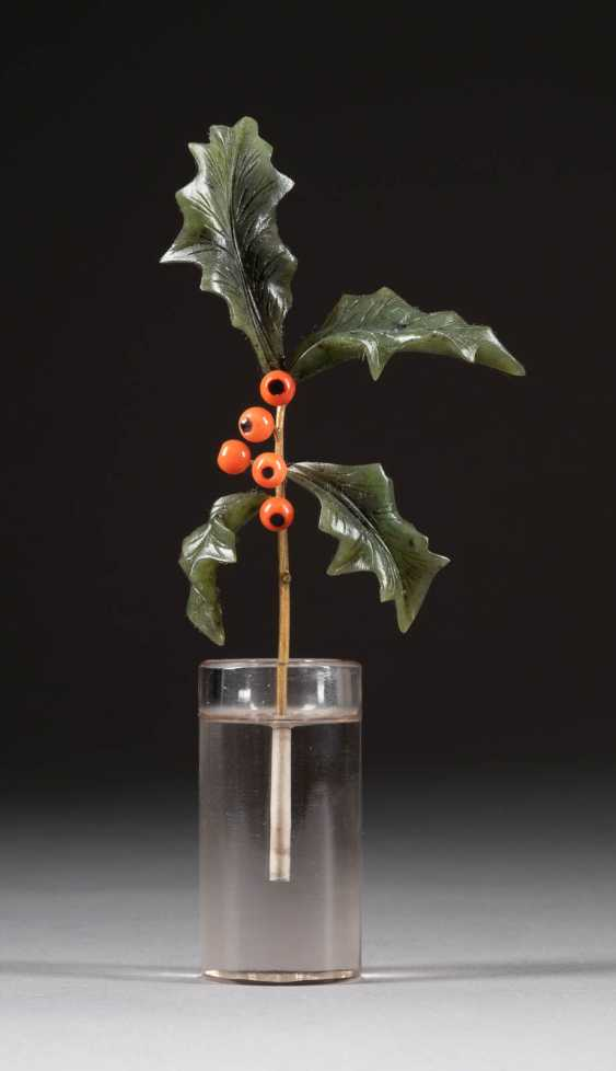 MISTELZWEIG (HOLLY PALM BRANCH) In the style of Fabergé - photo 1