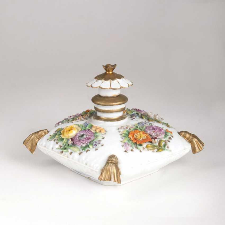 A Rare Porcelain Pillow Bottle - photo 1