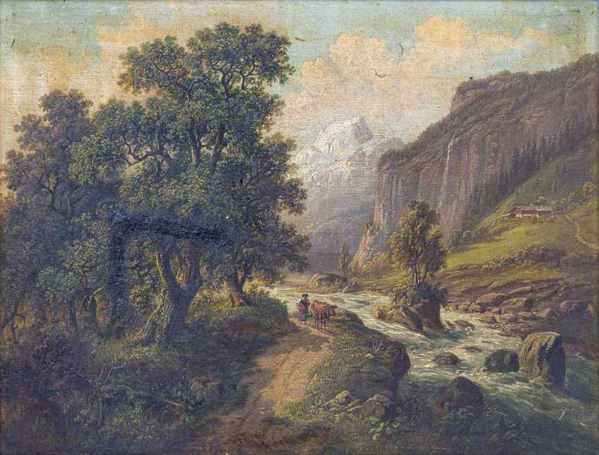 Landscape with river - photo 1
