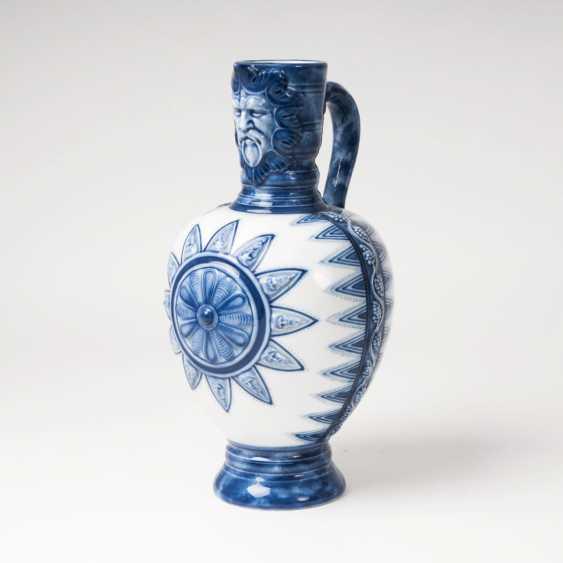Historicism-jug with mask spout - photo 1