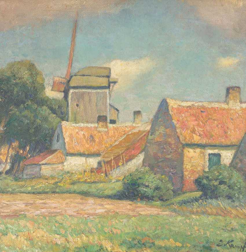 Homestead with mill, on the back landscape with mill - photo 1