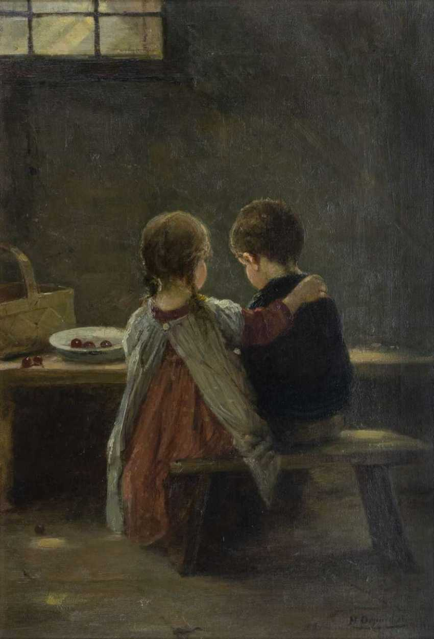 Children at the table - photo 1