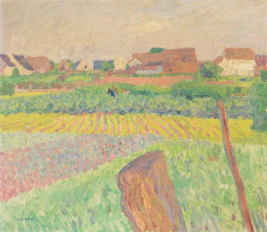 Landscape on the Lower Rhine - photo 1