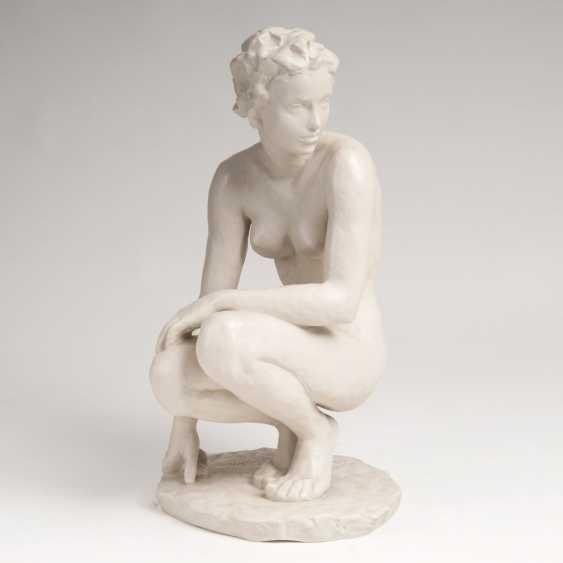 Fritz Klimsch (Frankfurt/M. 1870 - Saig 1960). Figure 'Squatting' - photo 1