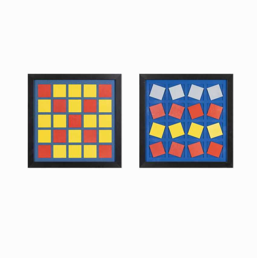 Two geometric compositions - photo 1