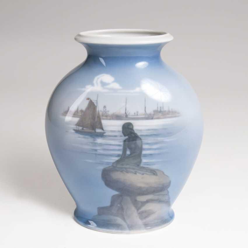 Copenhagen-Vase 'Little Mermaid' - photo 1