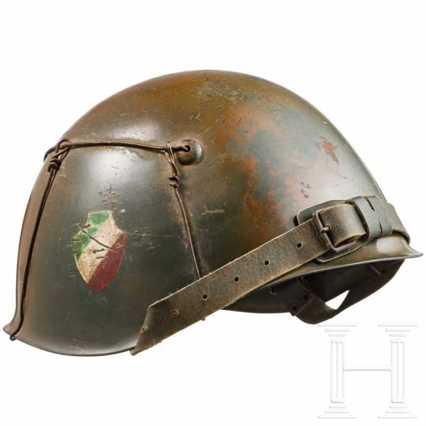 Stahlhelm der Italy Division в Тарнфарбене, гм 1943 г. - фото 1