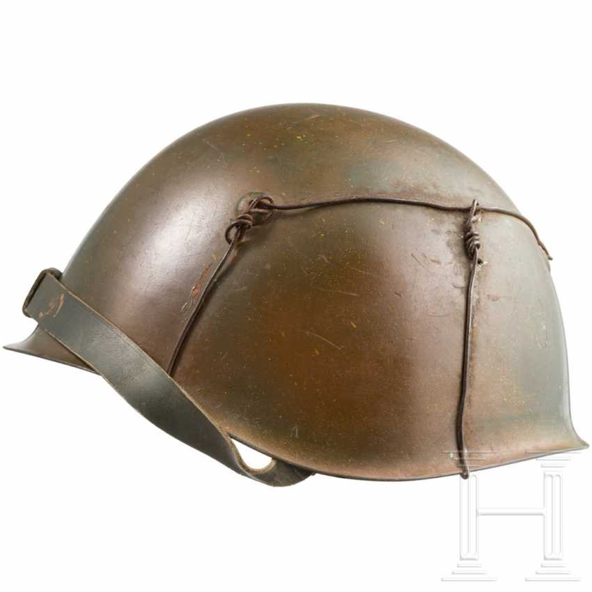Stahlhelm der Italy Division в Тарнфарбене, гм 1943 г. - фото 2