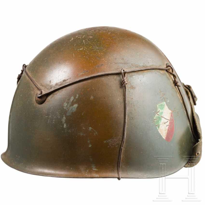 Stahlhelm der Italy Division в Тарнфарбене, гм 1943 г. - фото 4