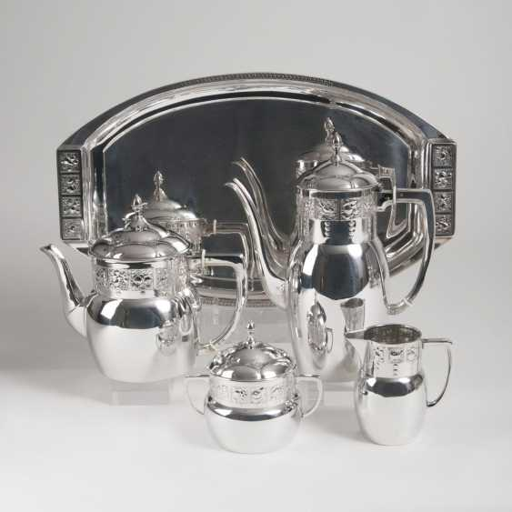 Orivit AG, founded in 1898. Art Nouveau tea and coffee service - photo 1