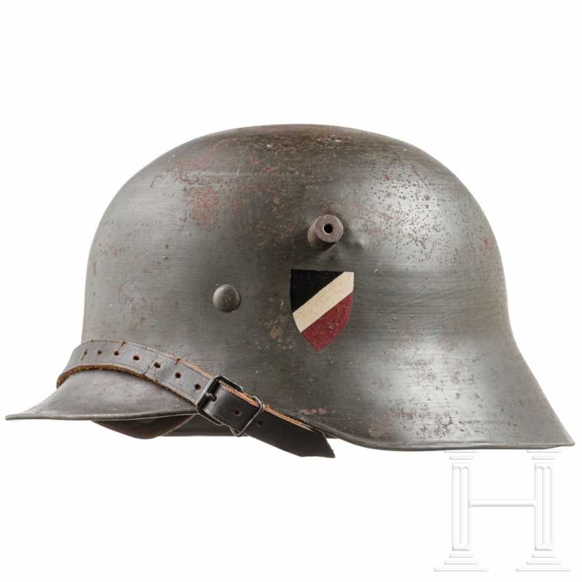 Stahlhelm M 1918 of a member of the Young German Order - photo 1