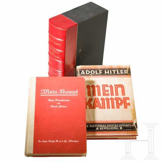 """Philip Ben Lieber - personal first edition """"Mein Kampf"""", Volume II, from Hitler's apartment at Prinzregentenplatz 16 - photo 1"""