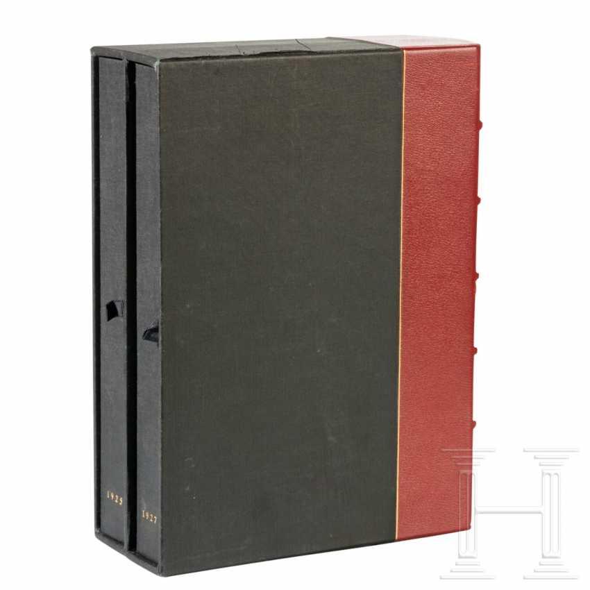 """Philip Ben Lieber - personal first edition """"Mein Kampf"""", Volume II, from Hitler's apartment at Prinzregentenplatz 16 - photo 2"""