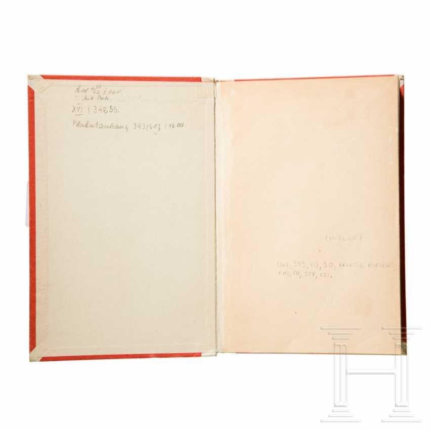 """Philip Ben Lieber - personal first edition """"Mein Kampf"""", Volume II, from Hitler's apartment at Prinzregentenplatz 16 - photo 3"""