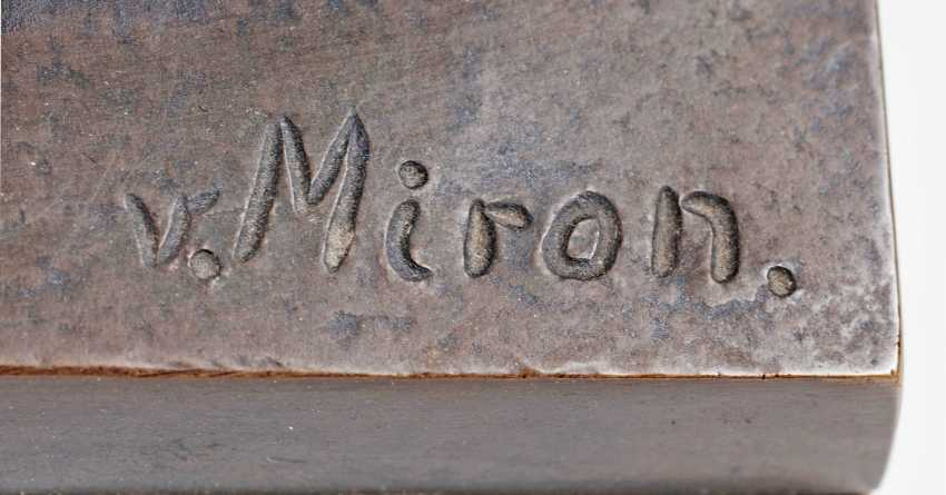 Bronze sculpture 'Diskobol of the Myron' after the antique - photo 2