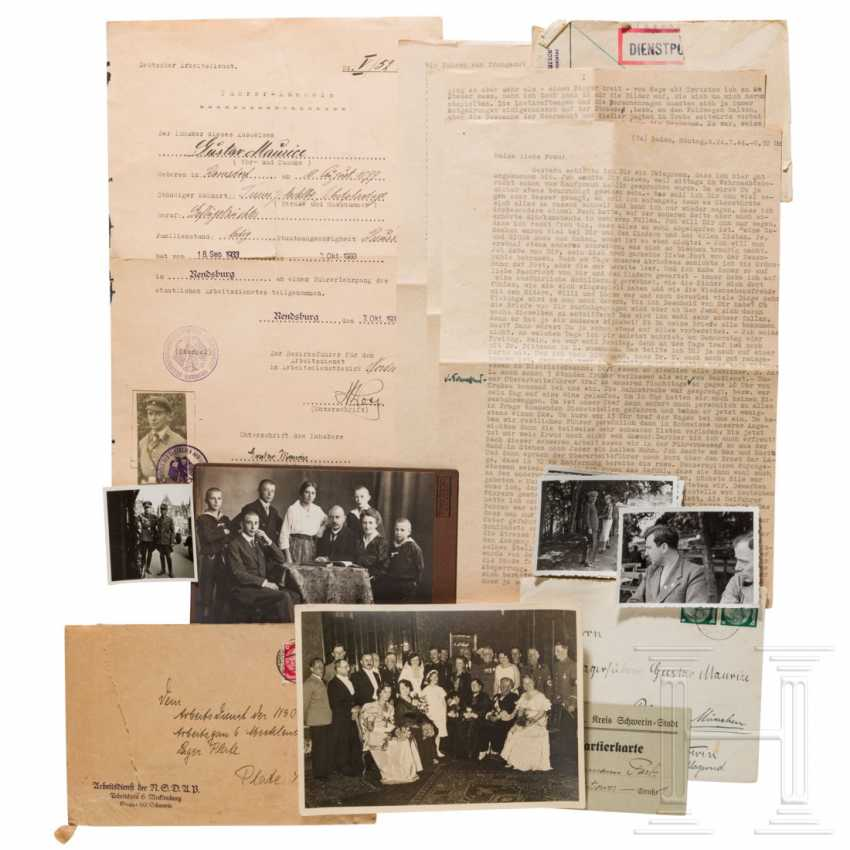 Small estate of the Maurice family - photos and correspondence - photo 2