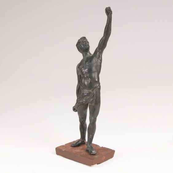 Statuette of the 'torch-bearer with 'loincloth' - photo 1