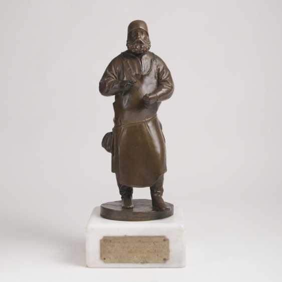 A Bronze Figure 'Hauer' - photo 1