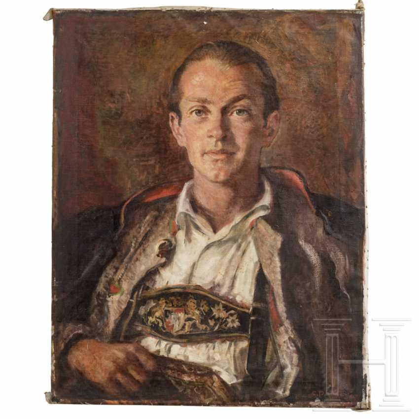 Gisbert Palmié - man in traditional Upper Bavarian costume - photo 1