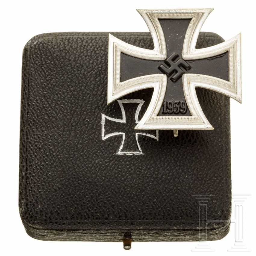 Iron Cross 1939, 1st class in a case - photo 1