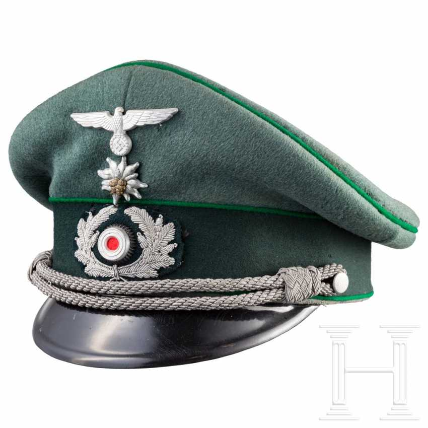 Peaked cap for officers of the mountain troops - photo 1