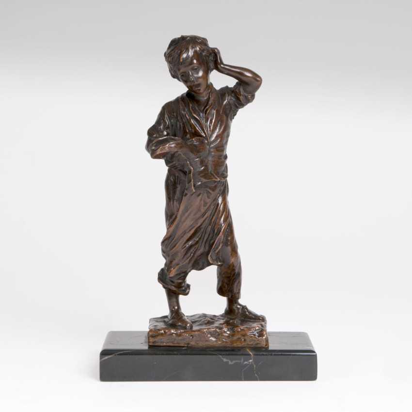 Bronze Sculpture 'Orphan' - photo 1