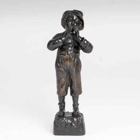 Bronze Sculpture 'Trolling Of The Street' - photo 1
