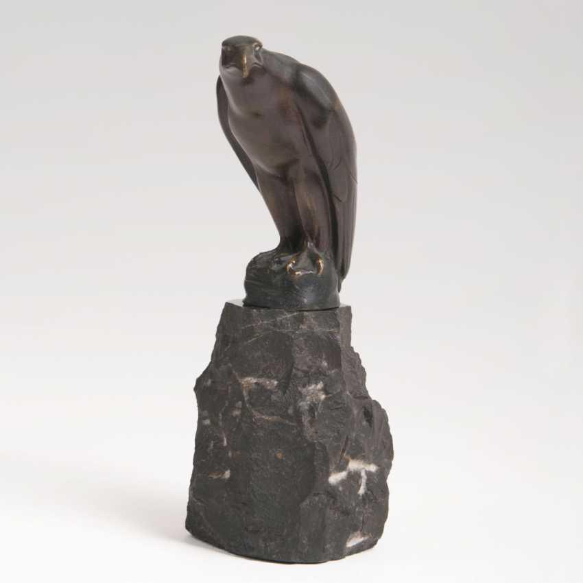 Small Animal Bronze 'Vulture' - photo 1