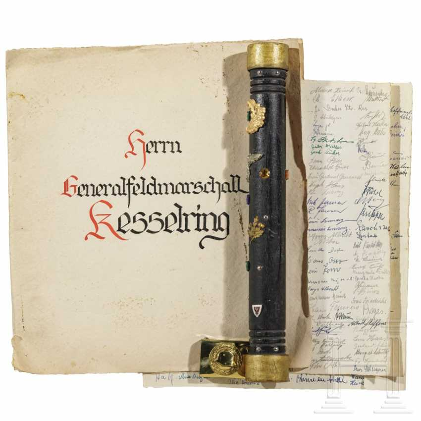 """Marshal's baton"" and documents from his time as federal leader of the Stahlhelmbund - photo 2"