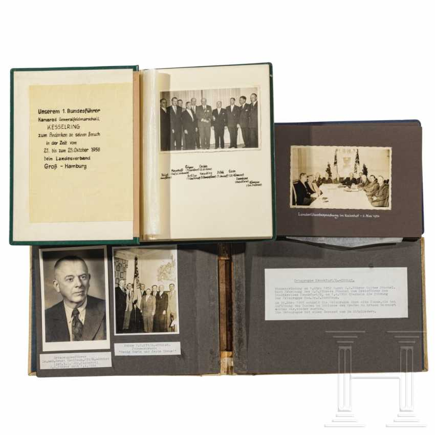 """Marshal's baton"" and documents from his time as federal leader of the Stahlhelmbund - photo 4"