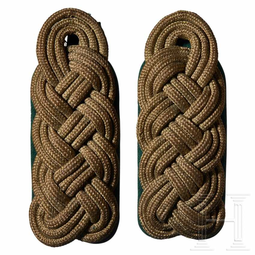 A pair of Forestry Leader shoulder boards - photo 1
