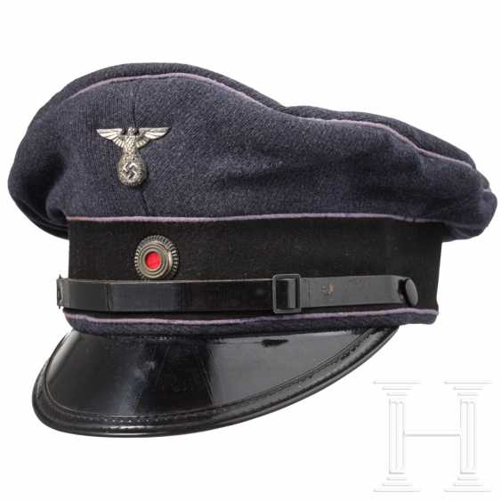 Visor cap for teams / sub-leaders of the Reich Air Protection Association (RLB), around 1936 - photo 2