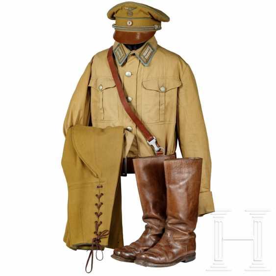 Uniform ensemble for a local group leader, around 1935 - photo 1