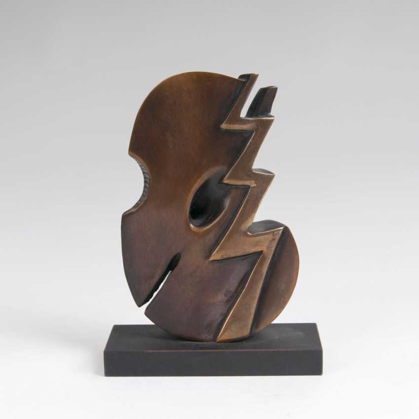 Karl-Heinz Dennig (Wilferdingen 1939). Bronze Sculpture, 'Rhythm' - photo 1