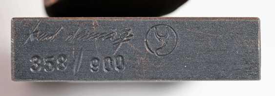Karl-Heinz Dennig (Wilferdingen 1939). Bronze Sculpture, 'Rhythm' - photo 2