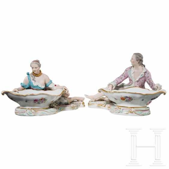 A pair of large saloons or serving bowls as counterparts, Meissen, 20th century - photo 1