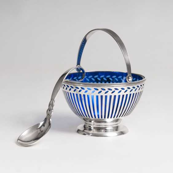 Tiffany & co. founded in 1853 in New York. Breakthrough-Henkel bowls with an extra ladle by Georg Jensen - photo 1