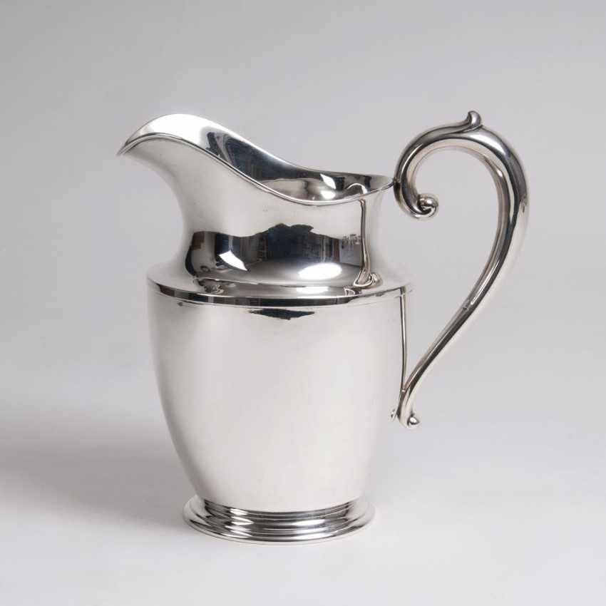 Wallace Silversmiths, Inc. (1834), founded in 1834, Wallingford, Connecticut (USA). American modern water pitcher - photo 1
