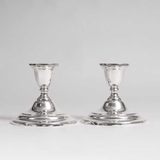 International Silver Company, founded in 1898, Meriden, Connecticut (USA). Couple of small American table lamp - photo 1