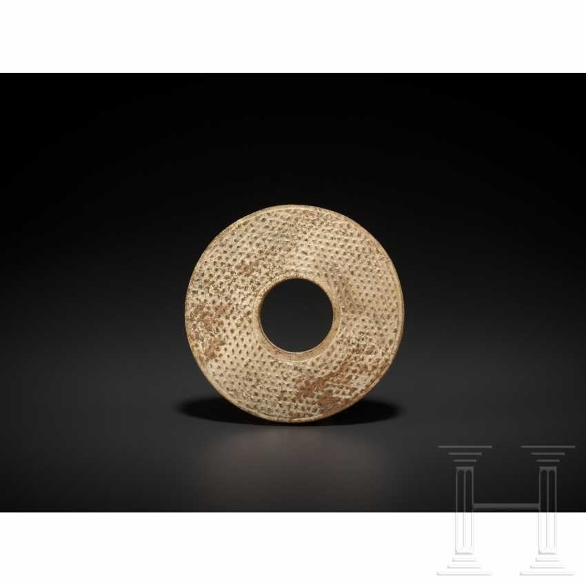 Chilong dragon disk in the style of the Sung to Ming times, China, around 1900 - photo 7