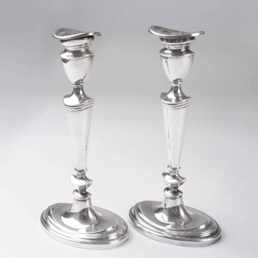Pair of English table chandelier - photo 1