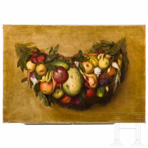 Still life with fruit, Italy, 19th century - photo 1