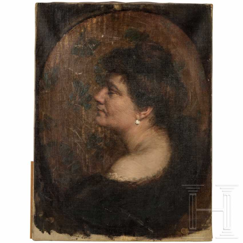 Portrait of a woman, Munich / Vienna, around 1910 - photo 1