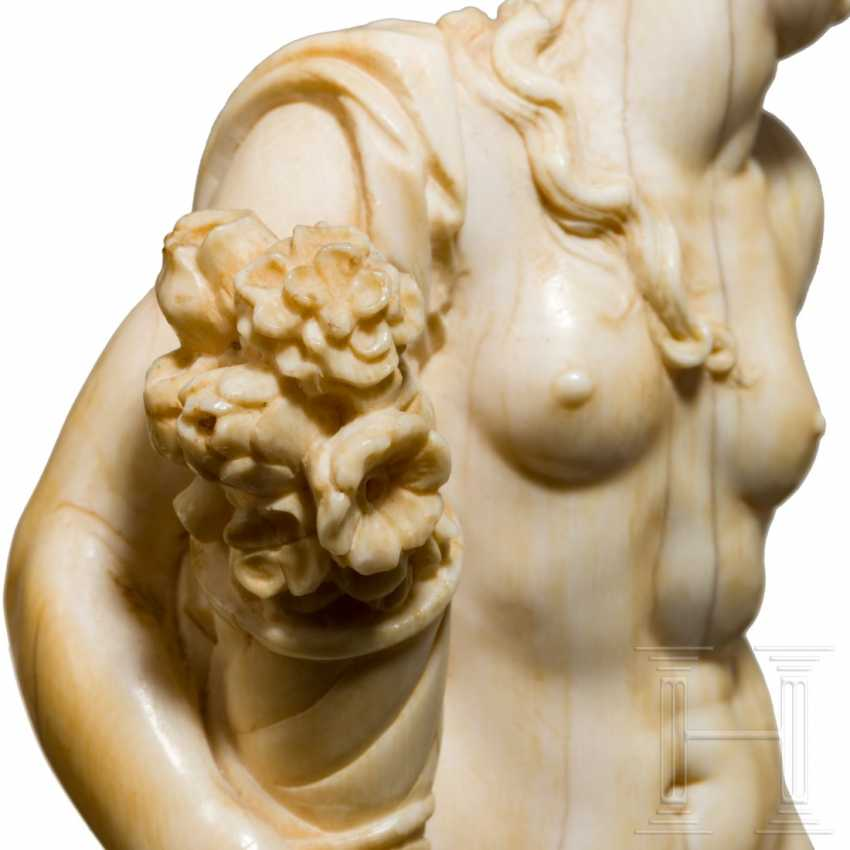 Fine sculpture of flora, from the Frits Philips' collection, Flanders, 17th century - photo 5