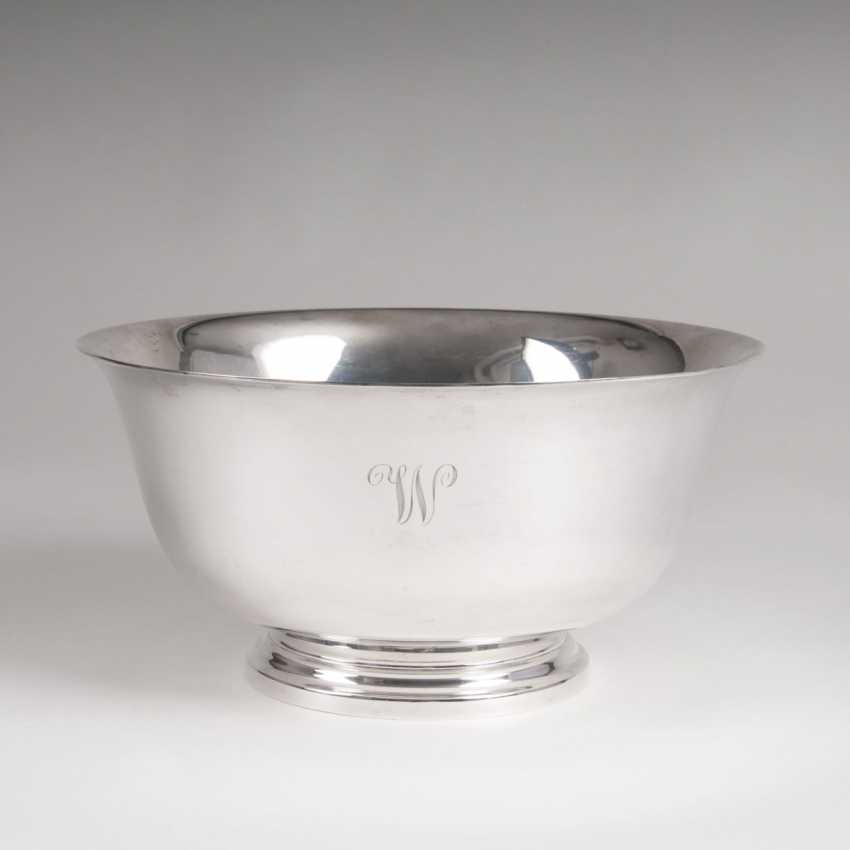 Frank W. Smith Silver Co., Inc. 1886 - 1958 Gardner, Massachusetts (USA). Elegant American bowl - photo 1