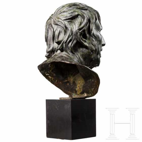 Grand Tour bust of Seneca, Italy, 19th century - photo 3