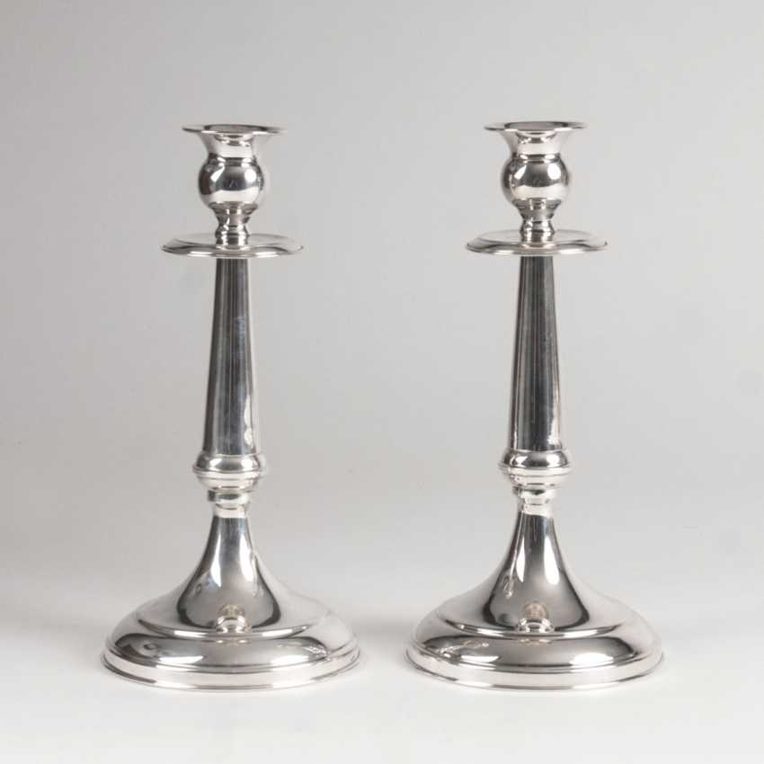 Pair of classic table lamps - photo 1